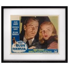 """""""The Blue Dahlia"""" Movie Poster"""