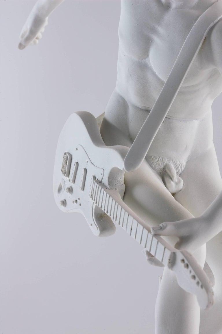 Guitar Hero - Sculpture by The Bounty Killart