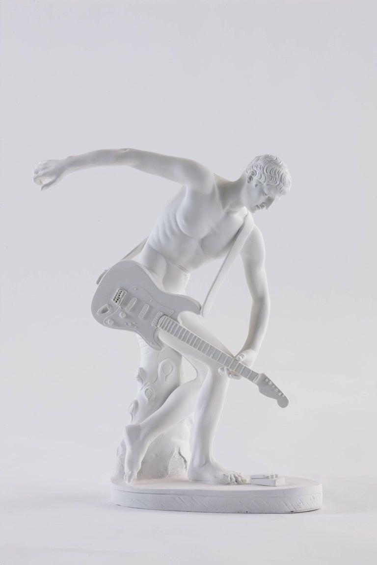 The Bounty Killart Figurative Sculpture - Guitar Hero