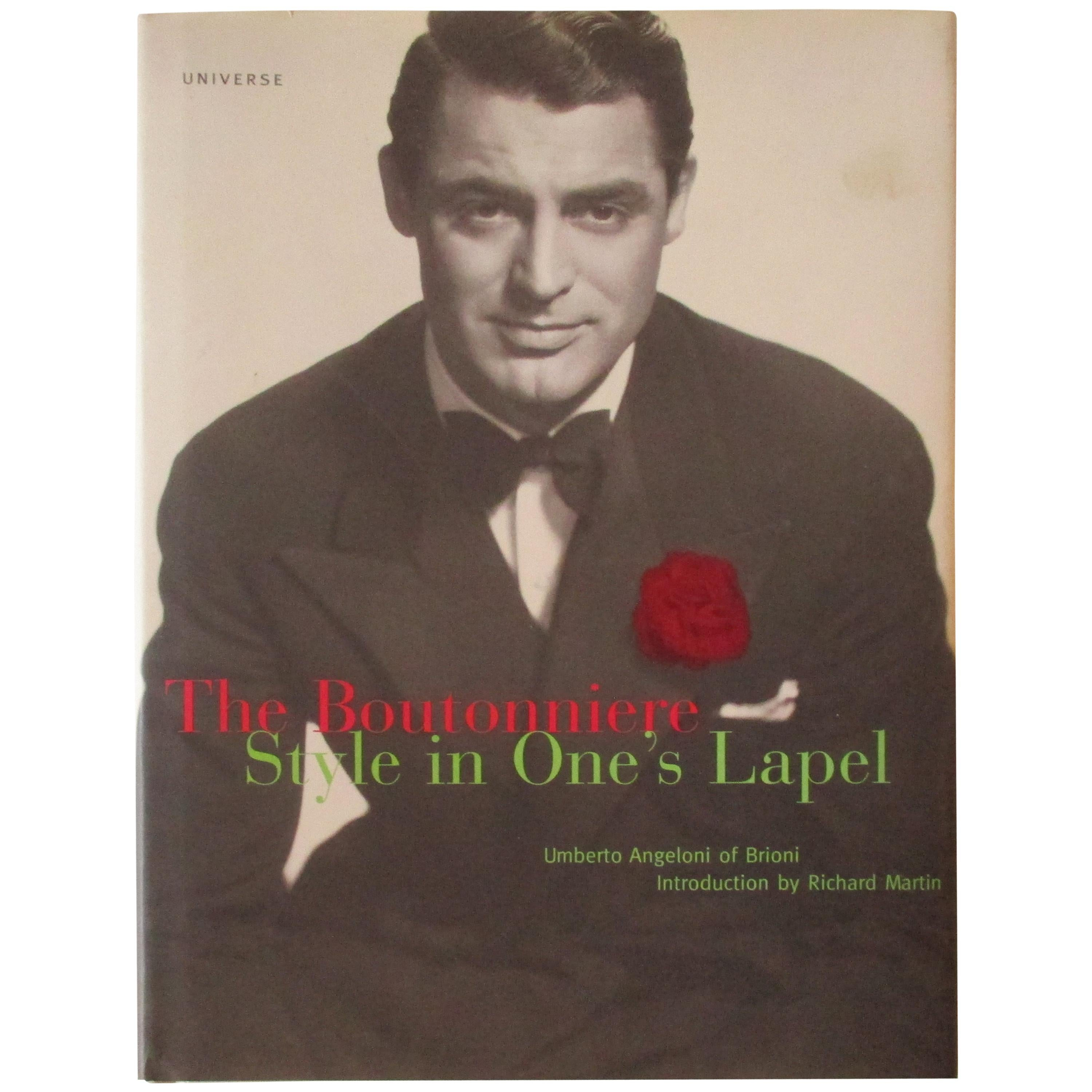 The Boutonniere Style in One's Lapel Vintage Book