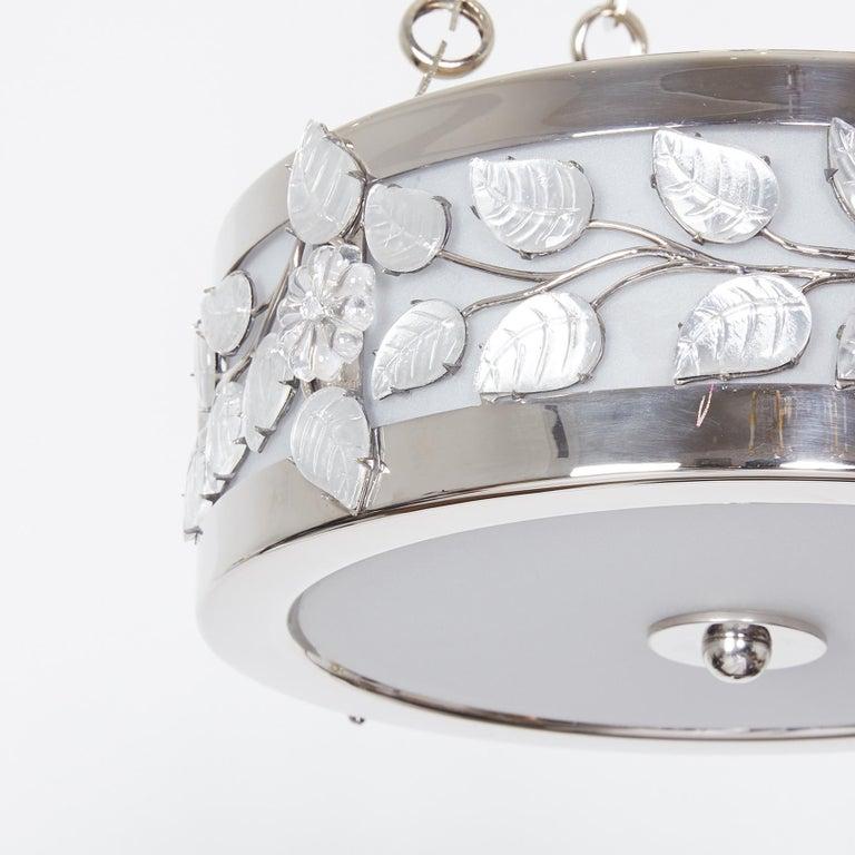 Art Deco Branch Pendant Light by David Duncan For Sale