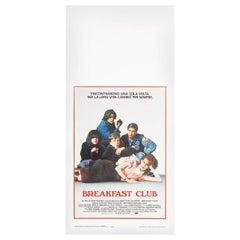 'The Breakfast Club' 1985 Italian Locandina Film Poster