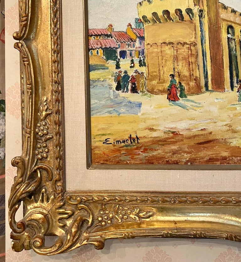 Oil on canvas signed lower left. Elisee Maclet (1881-1962) Very well listed French artist. Studied in Paris, was influence by many famous French artists of the beginning of the 20th century.  The work measures 17