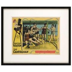 "The Cameraman"" Original US Lobby Card"