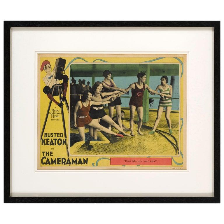 "The Cameraman"" Original US Lobby Card For Sale"