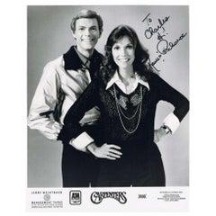 The Carpenters 1970s Autographed Photograph