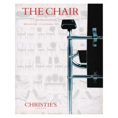 THE CHAIR, Christie's Auction Catalogue 29 October 1997