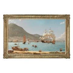 The Challenger Arrives off Kowloon Hong Kong, by Rodney Charman