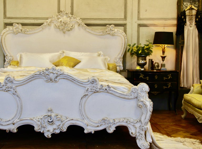 The Cherub Bed Hand Crafted In The Rococo Style Made By La Maison London For Sale 3