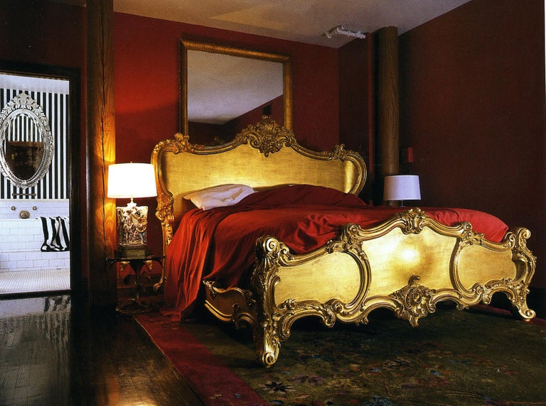 The iconic Rococo style Cherub Bed, hand carved in solid wood, is featured in the bedrooms of Soho House, NY and Crazy Bear, UK. The playful curves, harmonious proportions and generous depth of carving make for a piece that expresses comfort,