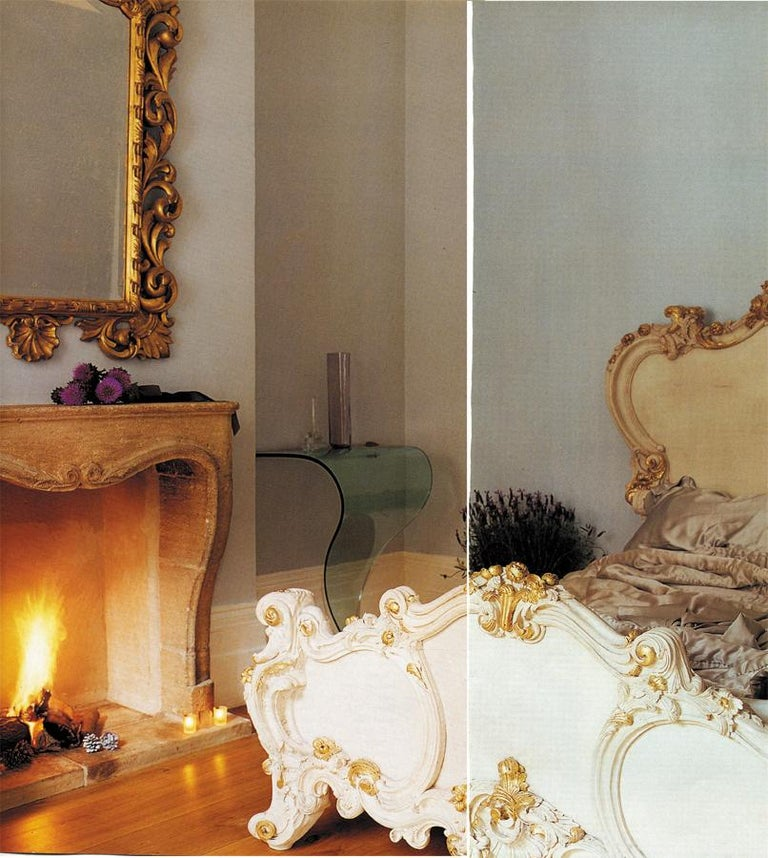 The Cherub Bed Hand Crafted In The Rococo Style Made By La Maison London For Sale 2