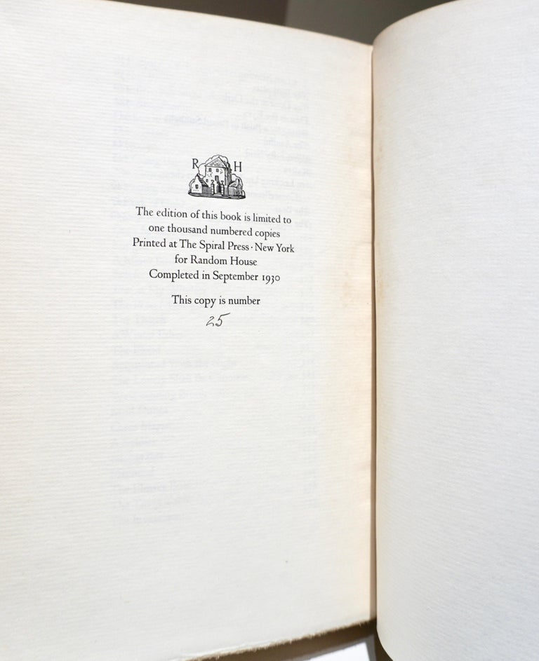 Canvas Robert Frost Collected Poems Signed First Edition