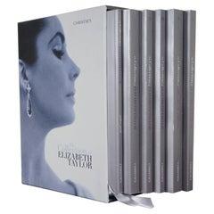 Collection of Elizabeth Taylor Christies Auction Catalog 6 Vol Book Box Set