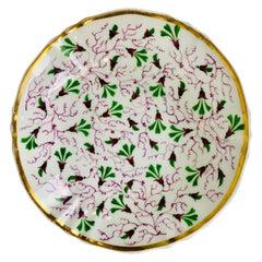 The Collection of Mario Buatta a Porcelain Saucer Made in England, circa 1825