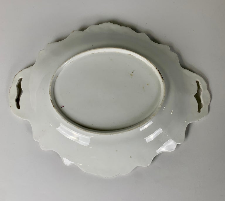 English The Collection of Mario Buatta Three Dishes with Floral Patterns, England c-1830