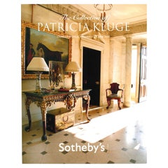 The Collection Of Patricia Kluge Charlottesville, Sotheby's Catalogue, 2010