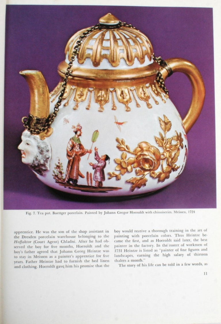 20th Century The Color Treasury of 18th Century Porcelain, 1st Edition For Sale