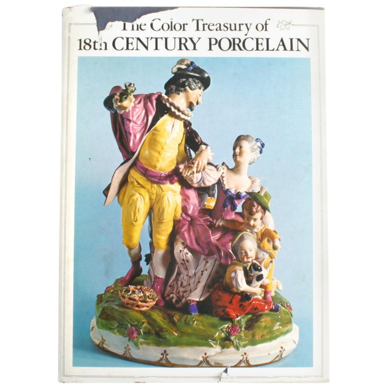 The Color Treasury of 18th Century Porcelain, 1st Edition For Sale