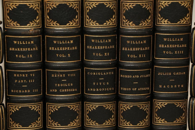 American Craftsman The Comedies, Histories, Tragedies, and Poems of William Shakespeare For Sale