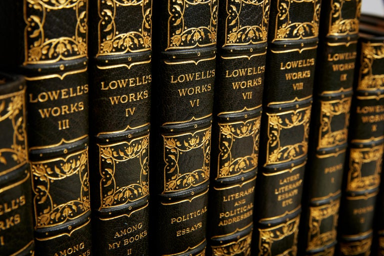 James R. Lowell, The Complete Writings In Good Condition For Sale In New York, NY