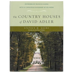 The Country Houses of David Adler, 'Book'