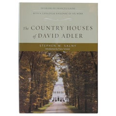 The Country Houses of David Adler Decorating Book