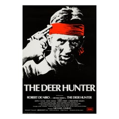 'The Deer Hunter' Original Vintage British One Sheet Movie Poster, 1979