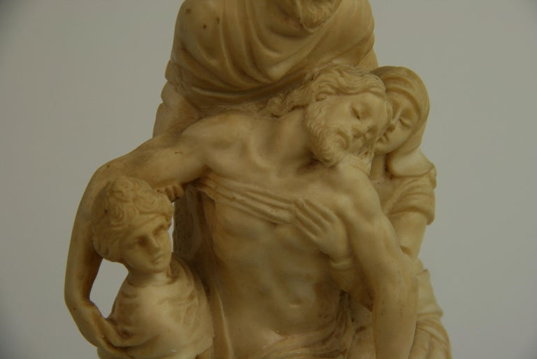 The Deposition Reproduction Sculpture after Michelangelo For Sale 5