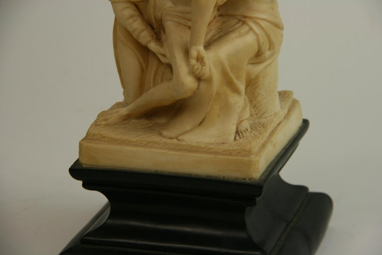 The Deposition Reproduction Sculpture after Michelangelo For Sale 1