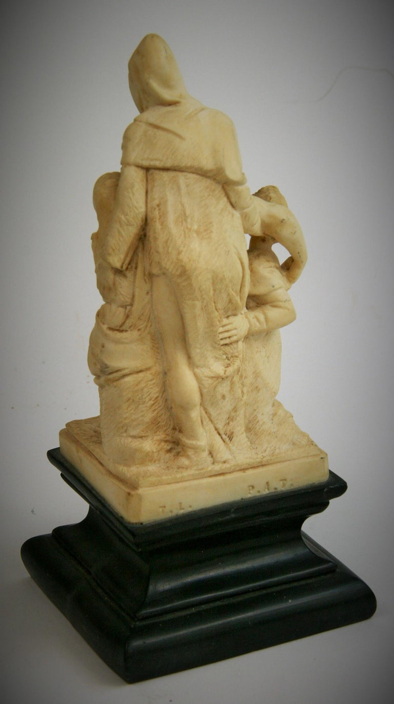 The Deposition Reproduction Sculpture after Michelangelo For Sale 2