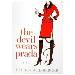 The Devil Wears Prada, a Novel by Lauren Weisberger, Signed, Stated 1st Edition