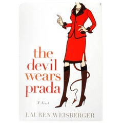 """The Devil Wears Prada"" Novel by Lauren Weisberger, Signed First Edition"