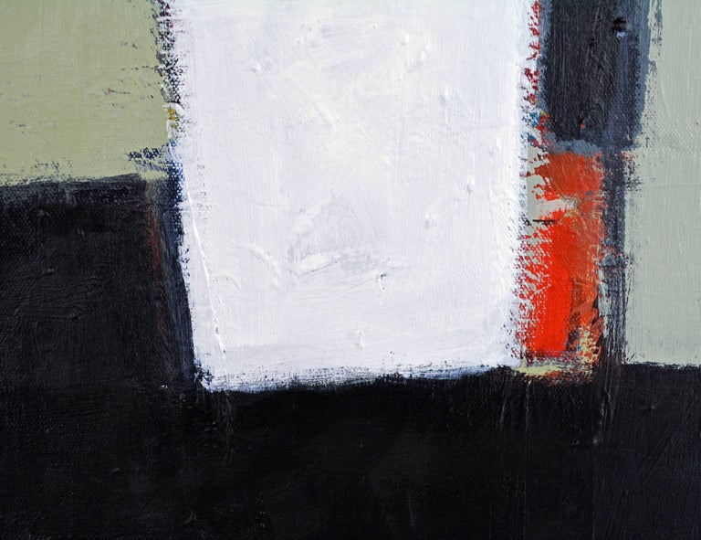 Brushed 'The Docks' Contemporary Abstract by Lars Hegelund, American For Sale