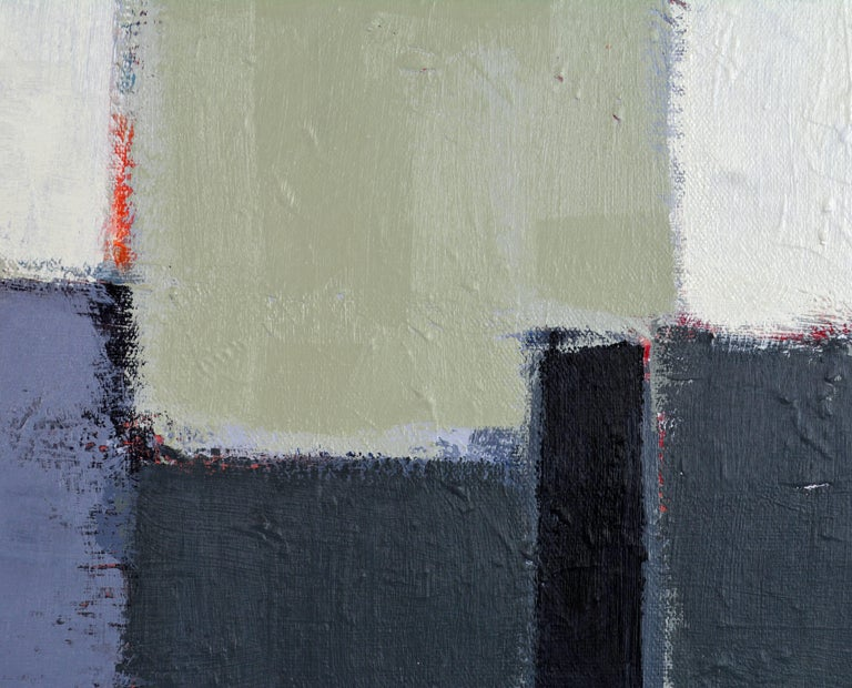 'The Docks' Contemporary Abstract by Lars Hegelund, American In Excellent Condition For Sale In Ft. Lauderdale, FL
