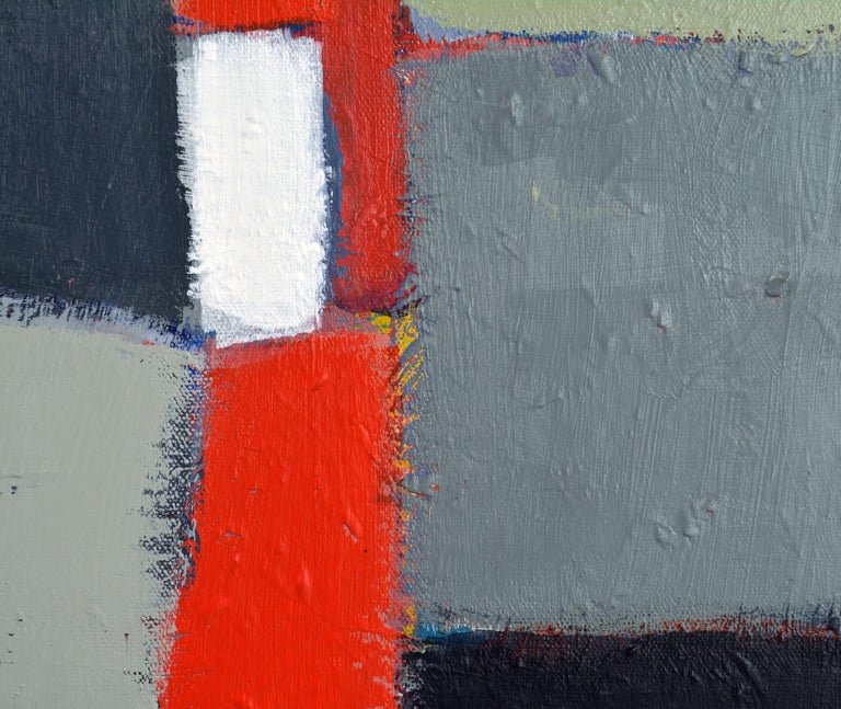 'The Docks' Contemporary Abstract Original Painting by Lars Hegelund 3