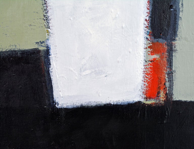 Brushed 'The Docks' Contemporary Abstract Original Painting by Lars Hegelund