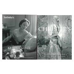 The Doris Duke Collection & Brooke Astor Estate - 2 Sale Catalogues