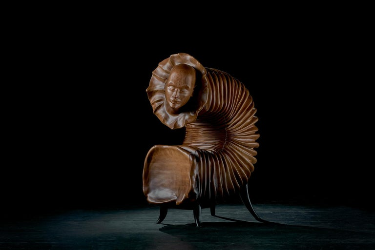 Lithuanian 'The Dreamer' Limited Edition Sculptural Cabinet from Egli Design For Sale