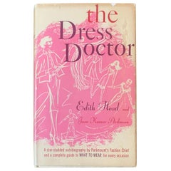 The Dress Doctor by Edith Head Uncommon First Edition Hardcover Fashion Book