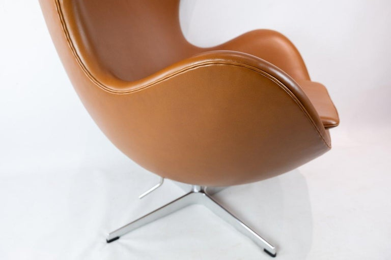 The Egg, Model 3316 by Arne Jacobsen and Fritz Hansen In Good Condition For Sale In Lejre, DK