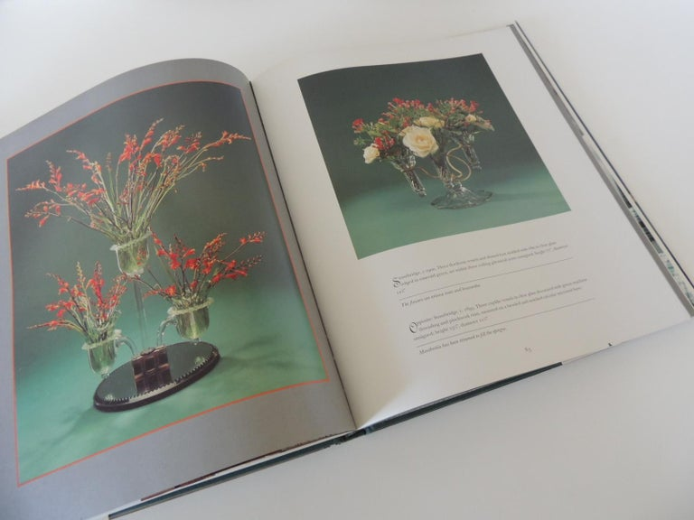 Machine-Made The Elegant Epergne Vintage Decorative Hard-Cover Coffee Table Book For Sale
