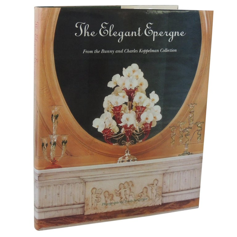 The Elegant Epergne Vintage Decorative Hard-Cover Coffee Table Book For Sale