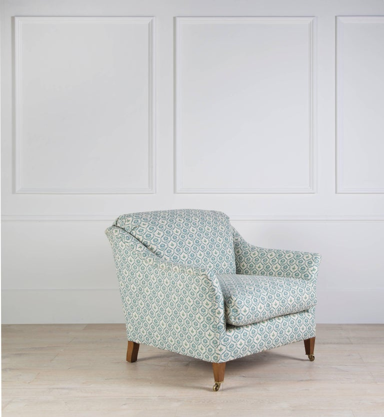 Elmstead Down Back Armchair In Excellent Condition For Sale In Gloucestershire, GB