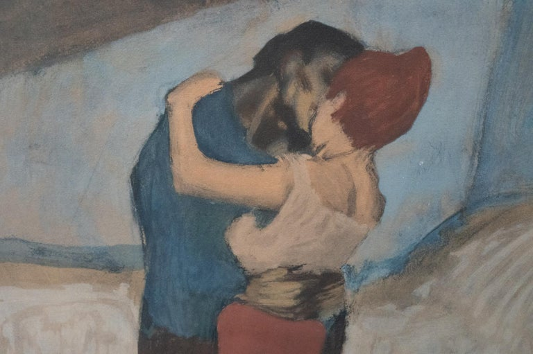 Modern The Embrace after Pablo Picasso For Sale