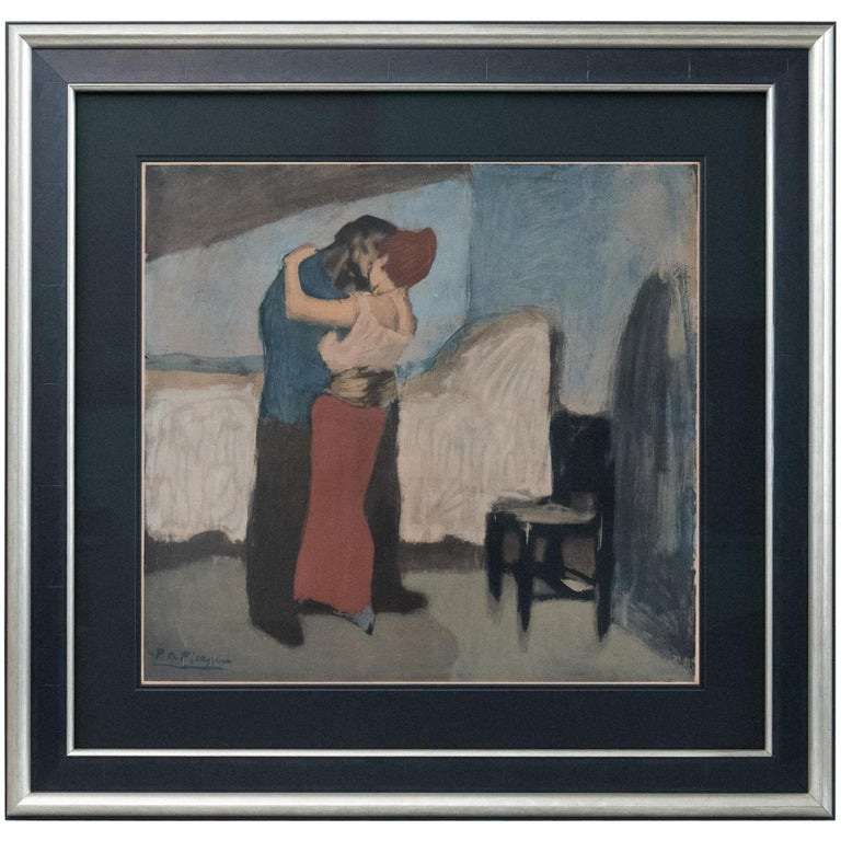 The Embrace after Pablo Picasso For Sale