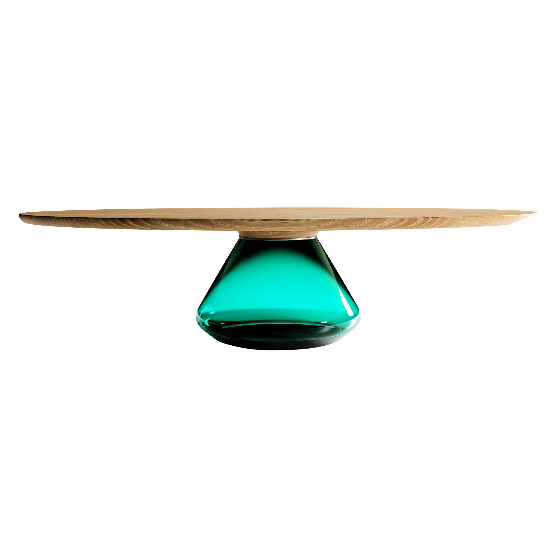 The Emerald Eclispse I, Limited Edition Coffee Table by Grzegorz Majka
