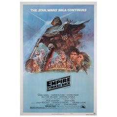 The Empire Strikes Back 1980 US 1 Sheet Style B Film Poster, Jung, Linen Backed
