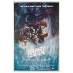 """The Empire Strikes Back"" US Film Movie Poster, Roger Kastel, 1980"