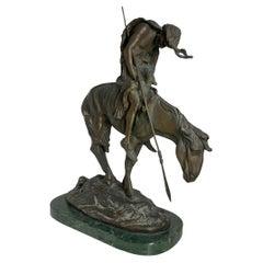 End of the Trail Bronze Sculpture after James Earle Fraser
