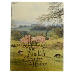 English Country House an Art and a Way of Life, by Olive Cook, First Edition